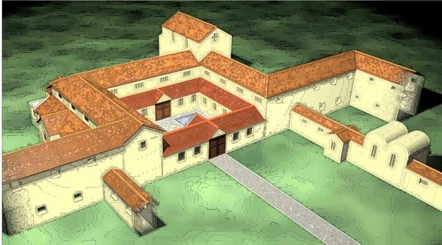Make A Roman Villa